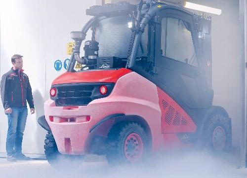 12hodinové testování vozíků v minus 15 stupních Celsia