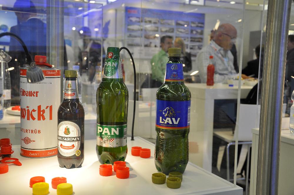Na BrauBeviale dominovaly sklo, plast a hliník
