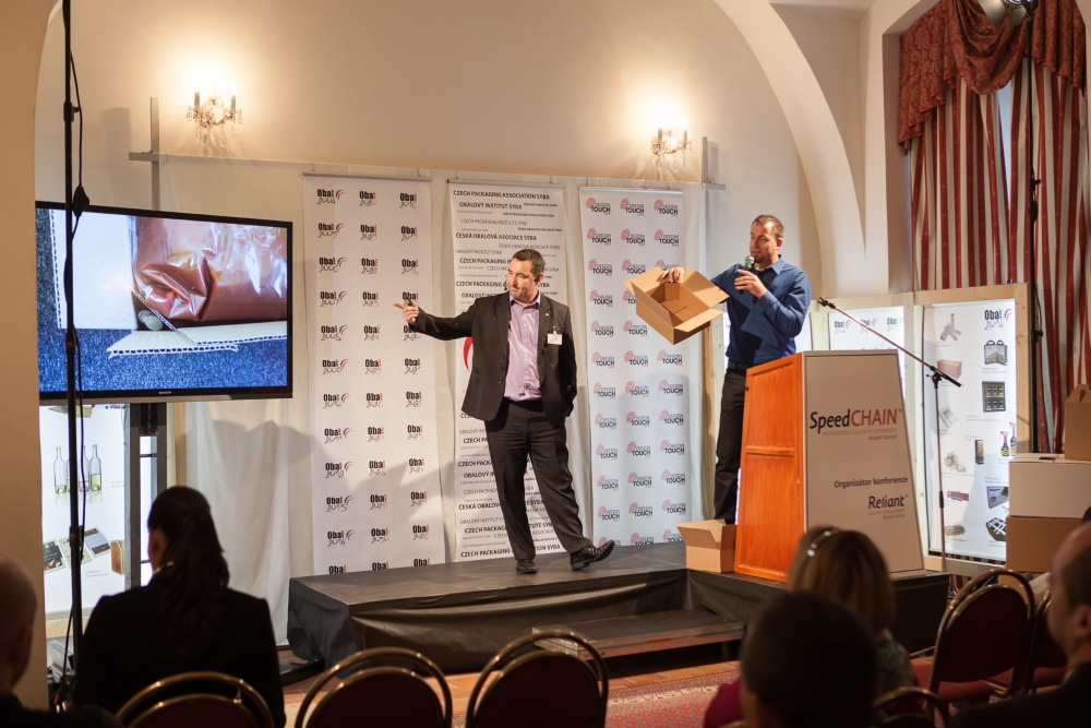 Premiéra obalů na logistické konferenci SpeedCHAIN