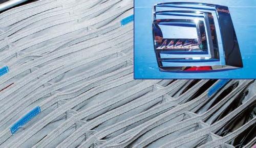 Vývoj interních obalů vnějších světel aut