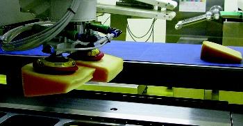 Paletizační roboty rozpoznají desítky velikostí krabic