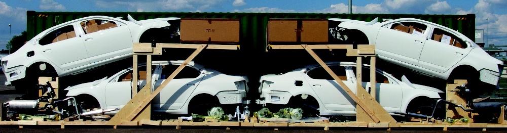 Packaging Herald byl při výrobě  unikátního obalu pro ŠKODA AUTO