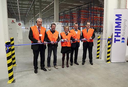 THIMM Packaging slavnostně otevřel nové výrobní a skladovací prostory