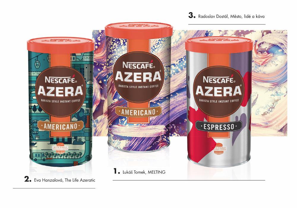 Mladí čeští designéři mění design Nescafé Azera