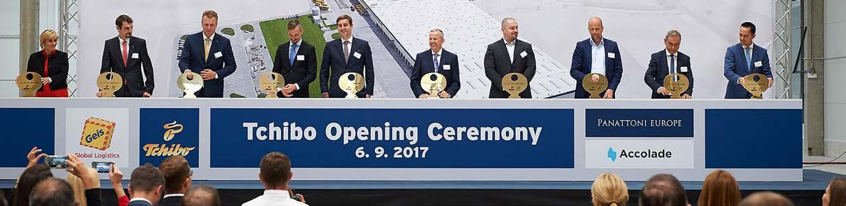 TCHIBO otevřelo své největší DC pro e-shop ve střední a východní Evropě