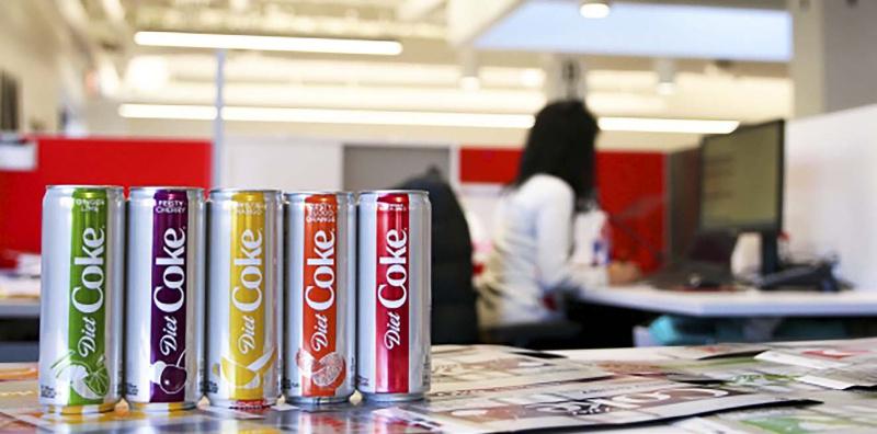 Diet Coke vyráží do roku 2018 ve zcela nové podobě