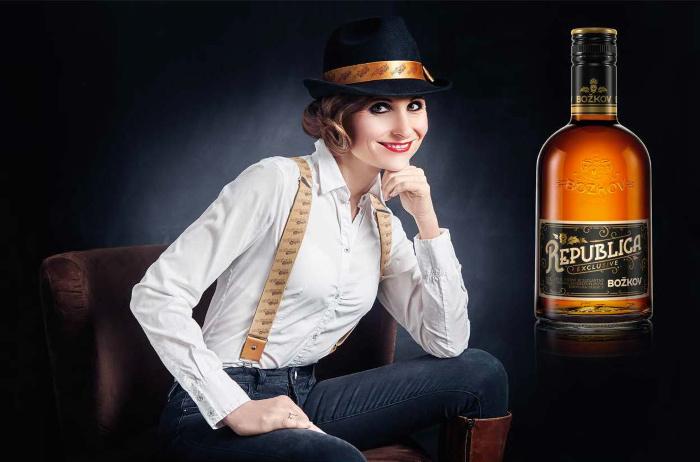 O novém rumu Božkov Republica Exclusive jsme hovořili s Gabrielou Adámkovou