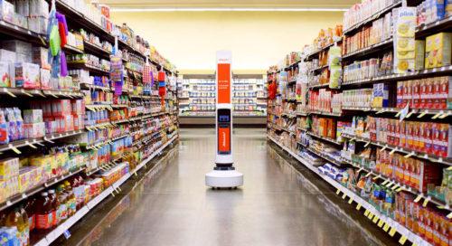 V prodejnách amerického řetězce kontrolují regály roboti