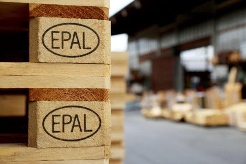 Palety EPAL se budou označovat i inkoustovým tiskem