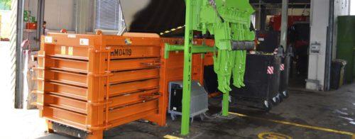 Praha spustila poloautomat na třídění kovového odpadu