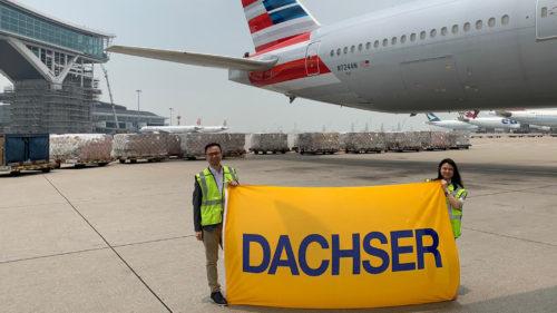 DACHSER zorganizoval přepravu 60 miliónů respirátorů a dalších ochranných pomůcek