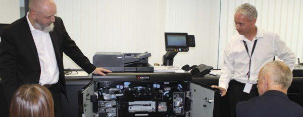KYOCERA představila první produkční inkoustovou tiskárnu