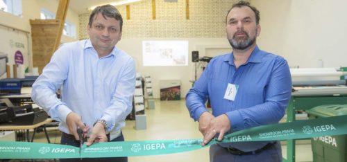 Igepa: Pestrá škála strojů na jedné ploše