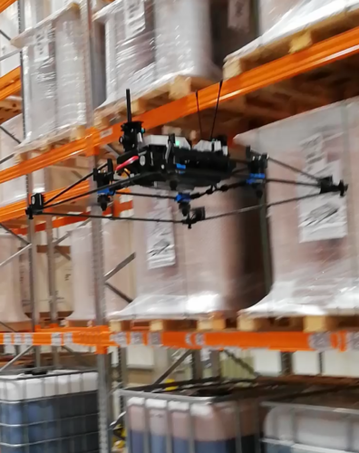 ESA nasadila na inventuru autonomní drony